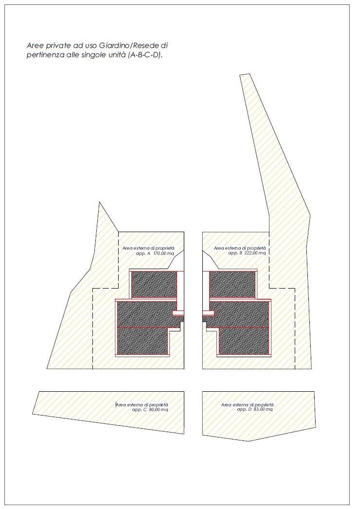 Appartamento in vendita, rif. R/553 (Planimetria 2/6)
