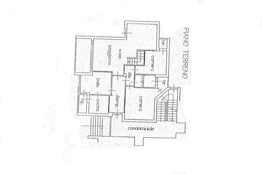Appartamento in vendita, rif. R/598 (Planimetria 2/2)