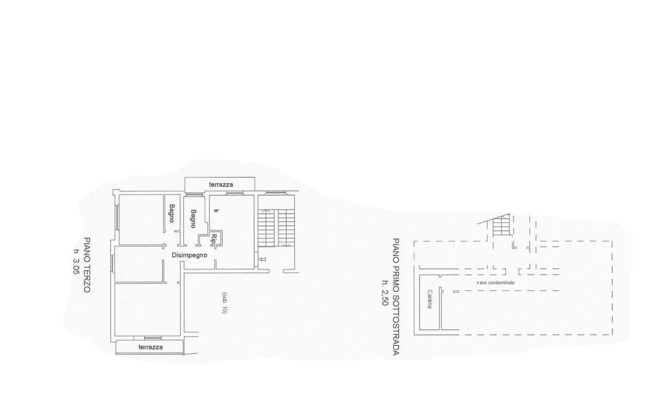 Appartamento in vendita, rif. R/562 (Planimetria 1/1)