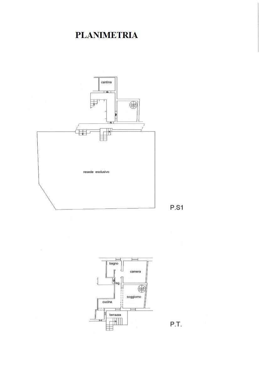 Appartamento in affitto, rif. R/564 (Planimetria 1/1)