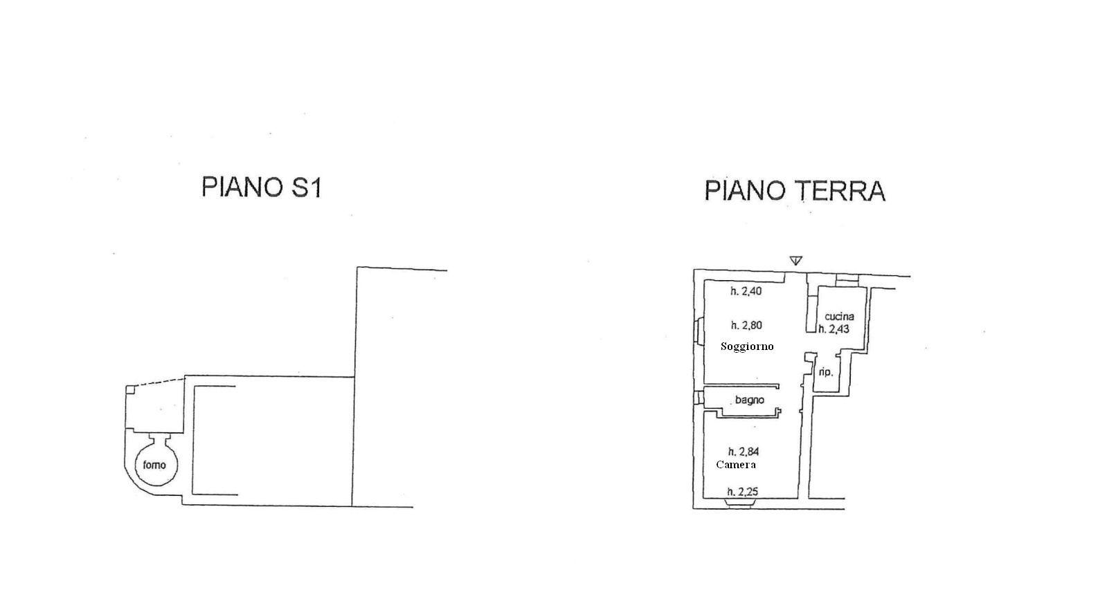 Appartamento in vendita, rif. R/567 (Planimetria 1/1)