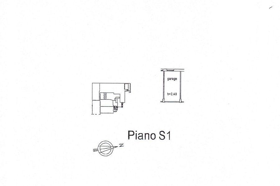 Appartamento in affitto, rif. R/210 (Planimetria 2/2)