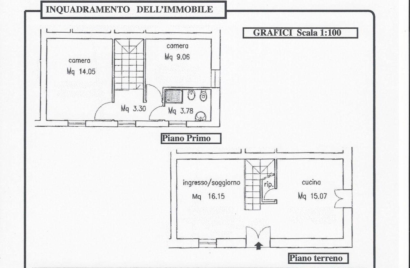 Rustico in affitto, rif. R/576 (Planimetria 1/1)