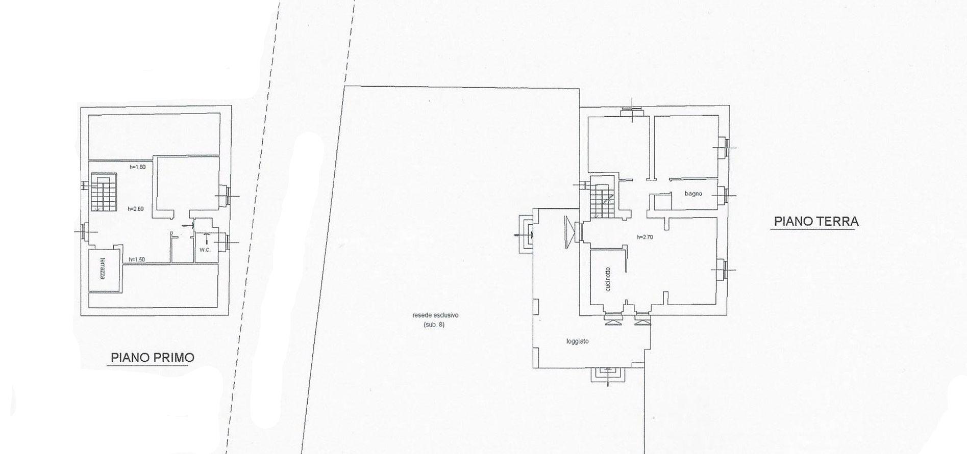 Casale in vendita, rif. R/584 (Planimetria 1/1)