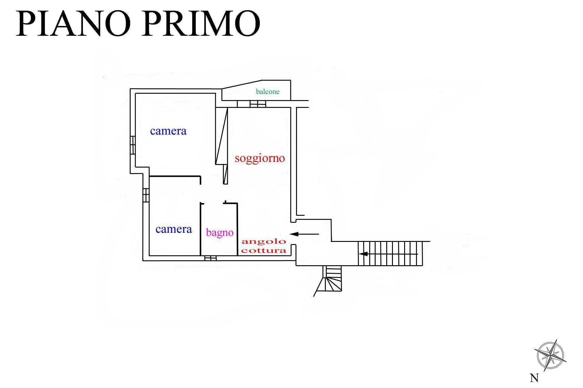 Appartamento in vendita, rif. R/586 (Planimetria 1/1)