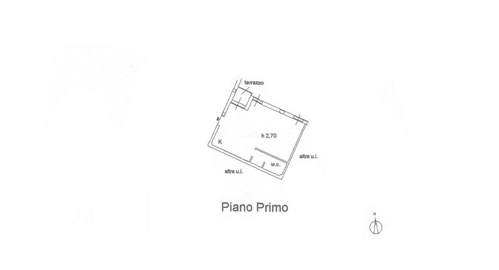 Appartamento in vendita, rif. R/589 (Planimetria 1/1)