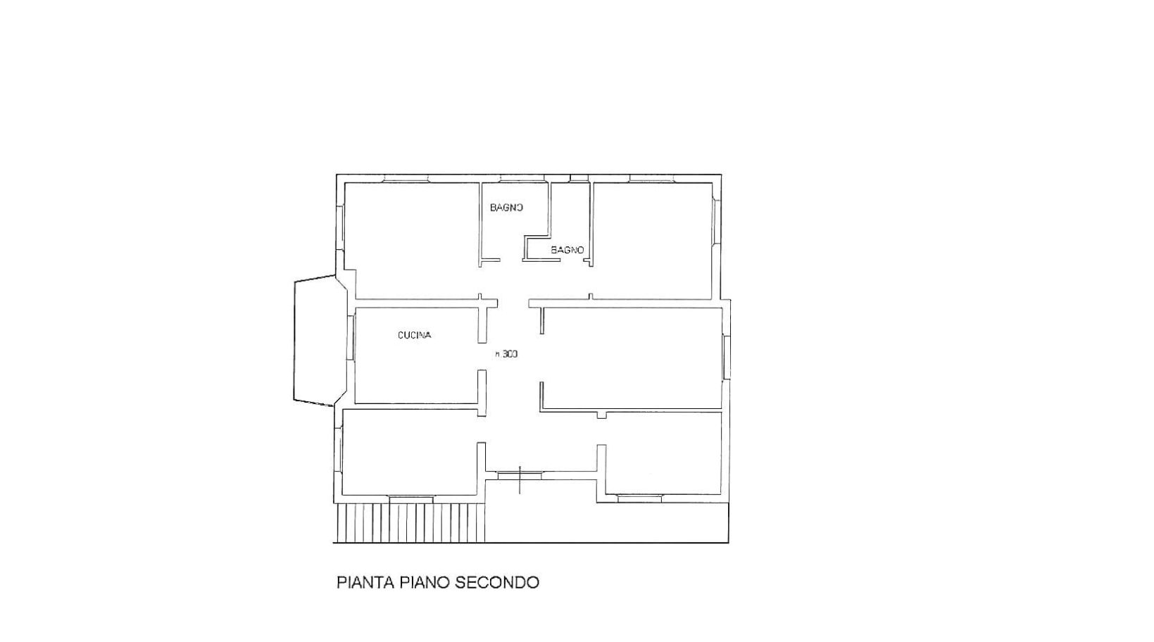 Semi-detached house for sale, ref. R/593 (Plan 1/3)