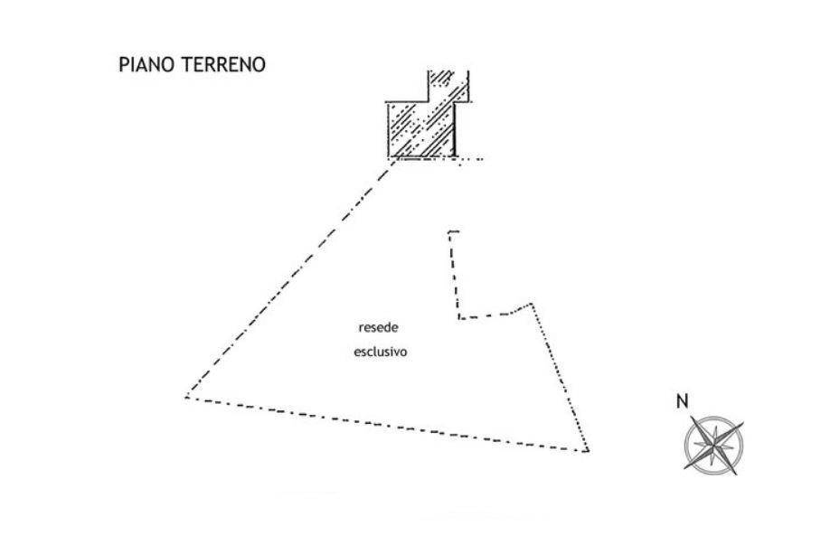 Porzione di casa in vendita, rif. R/599 (Planimetria 4/4)