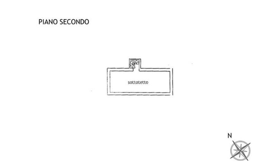 Porzione di casa in affitto, rif. R/634 (Planimetria 3/4)