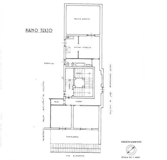 Appartamento in affitto, rif. R/605 (Planimetria 1/1)