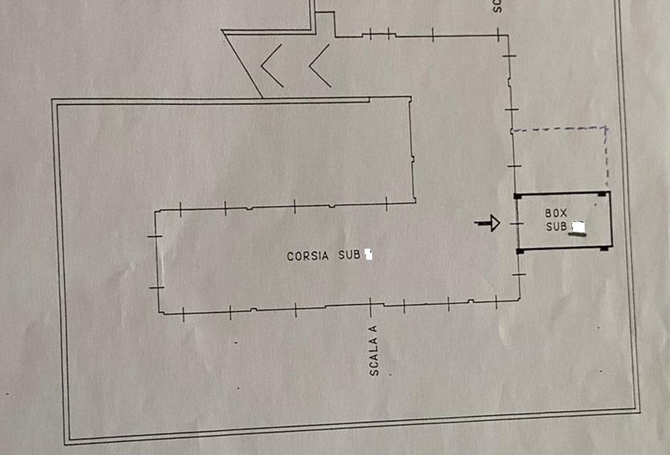 Appartamento in vendita, rif. R/612 (Planimetria 2/2)