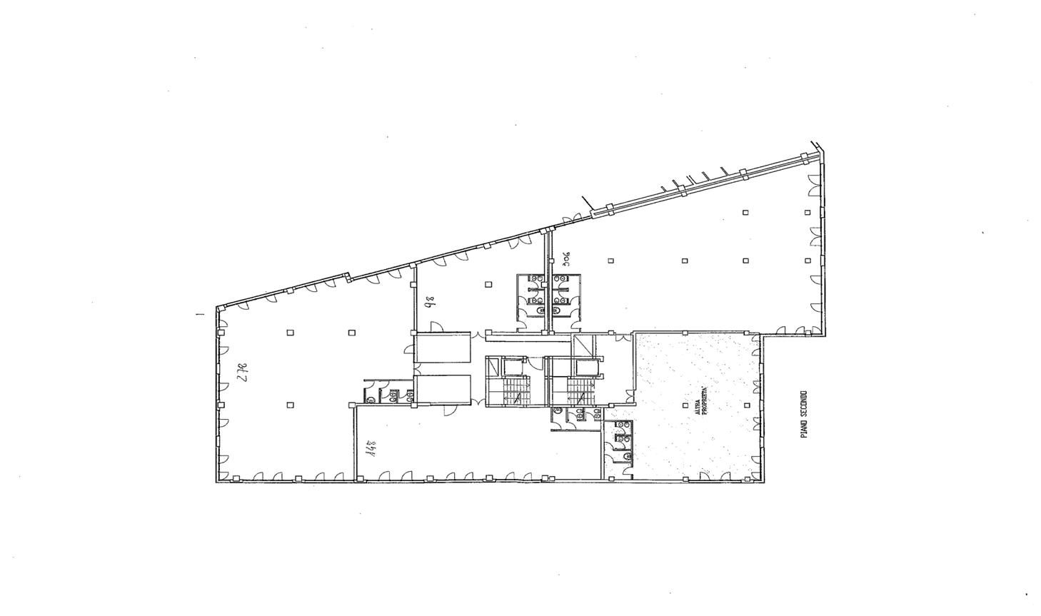 Ufficio in affitto commerciale, rif. C/67 (Planimetria 1/1)