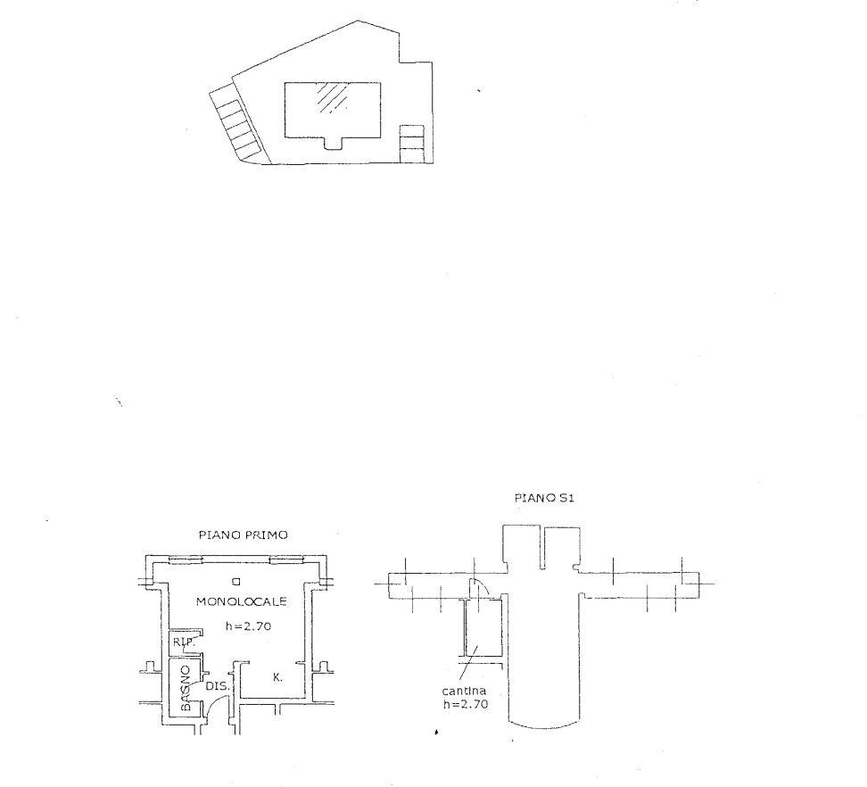 Appartamento in affitto, rif. R/626 (Planimetria 1/1)