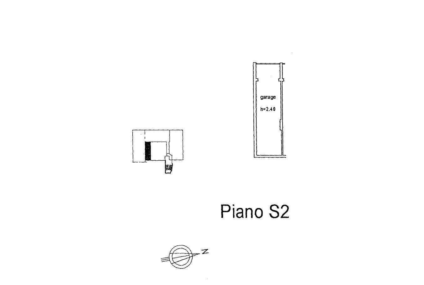 Appartamento in affitto, rif. R/635 (Planimetria 2/2)