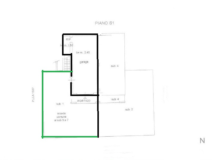 Apartment for sale, ref. R/639 (Plan 2/2)