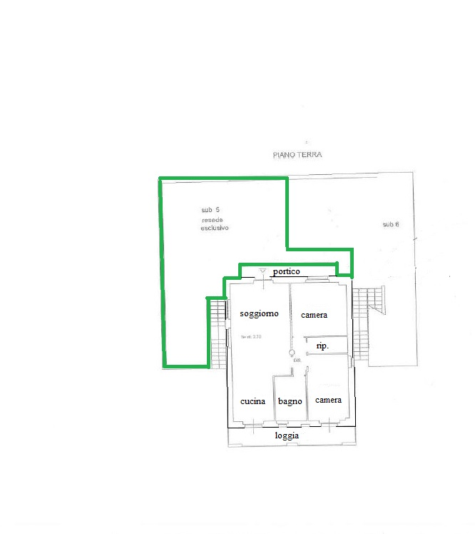 Apartment for sale, ref. R/639 (Plan 1/2)