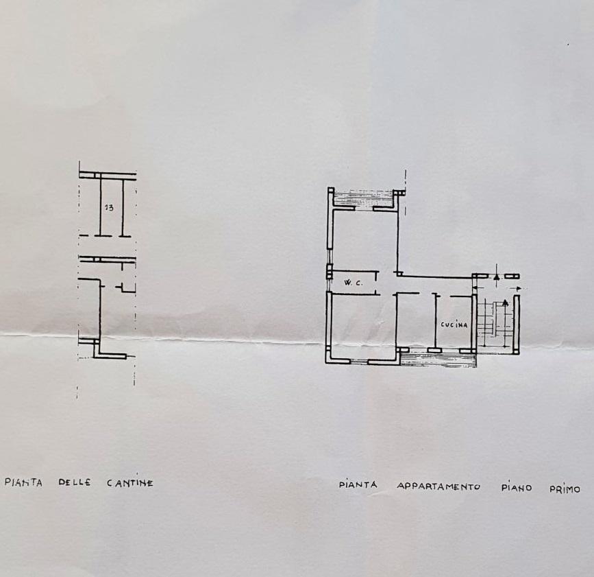 Appartamento in vendita, rif. R/649 (Planimetria 1/1)