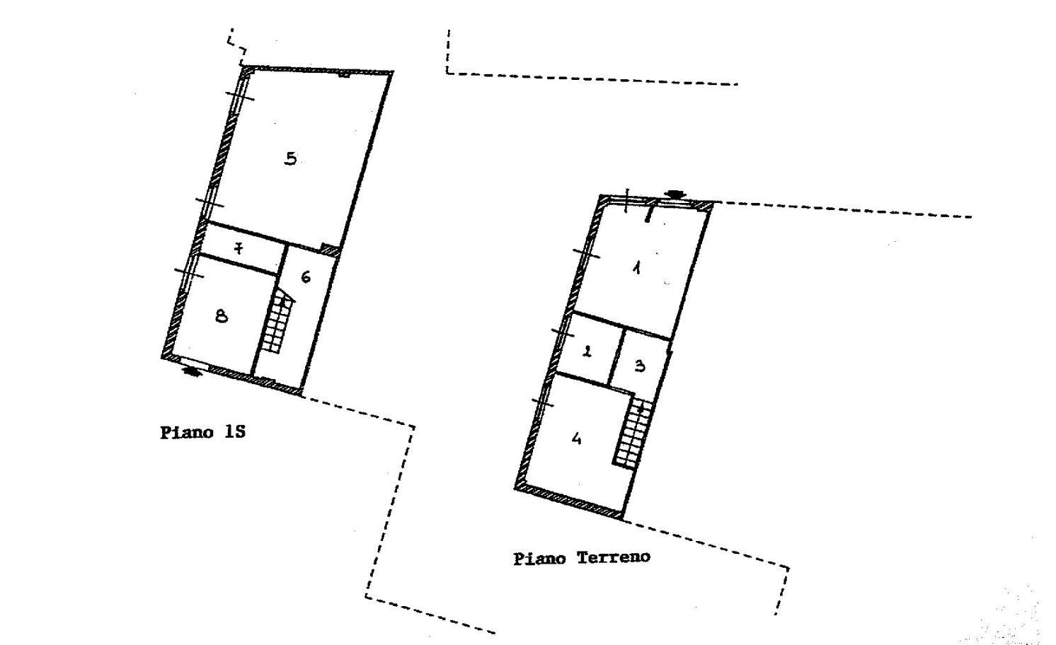 Appartamento in vendita, rif. R/650 (Planimetria 1/2)