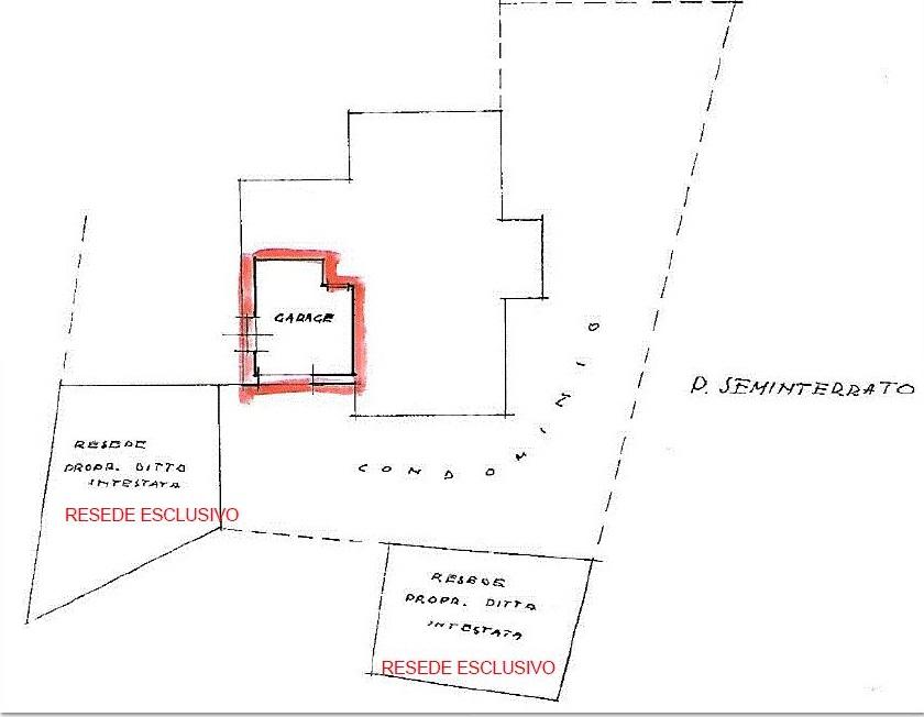 Appartamento in affitto, rif. R/652 (Planimetria 2/3)