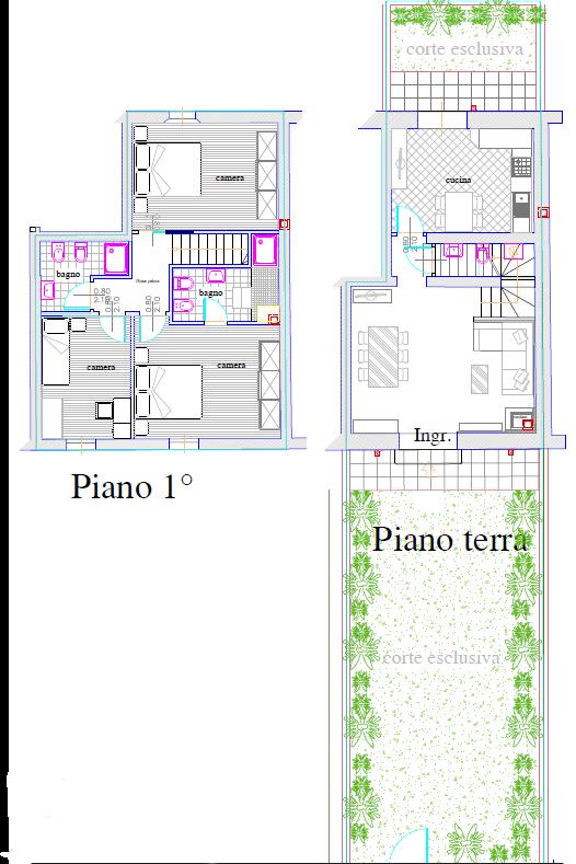 Terratetto in vendita, rif. 386 (Planimetria 3/3)