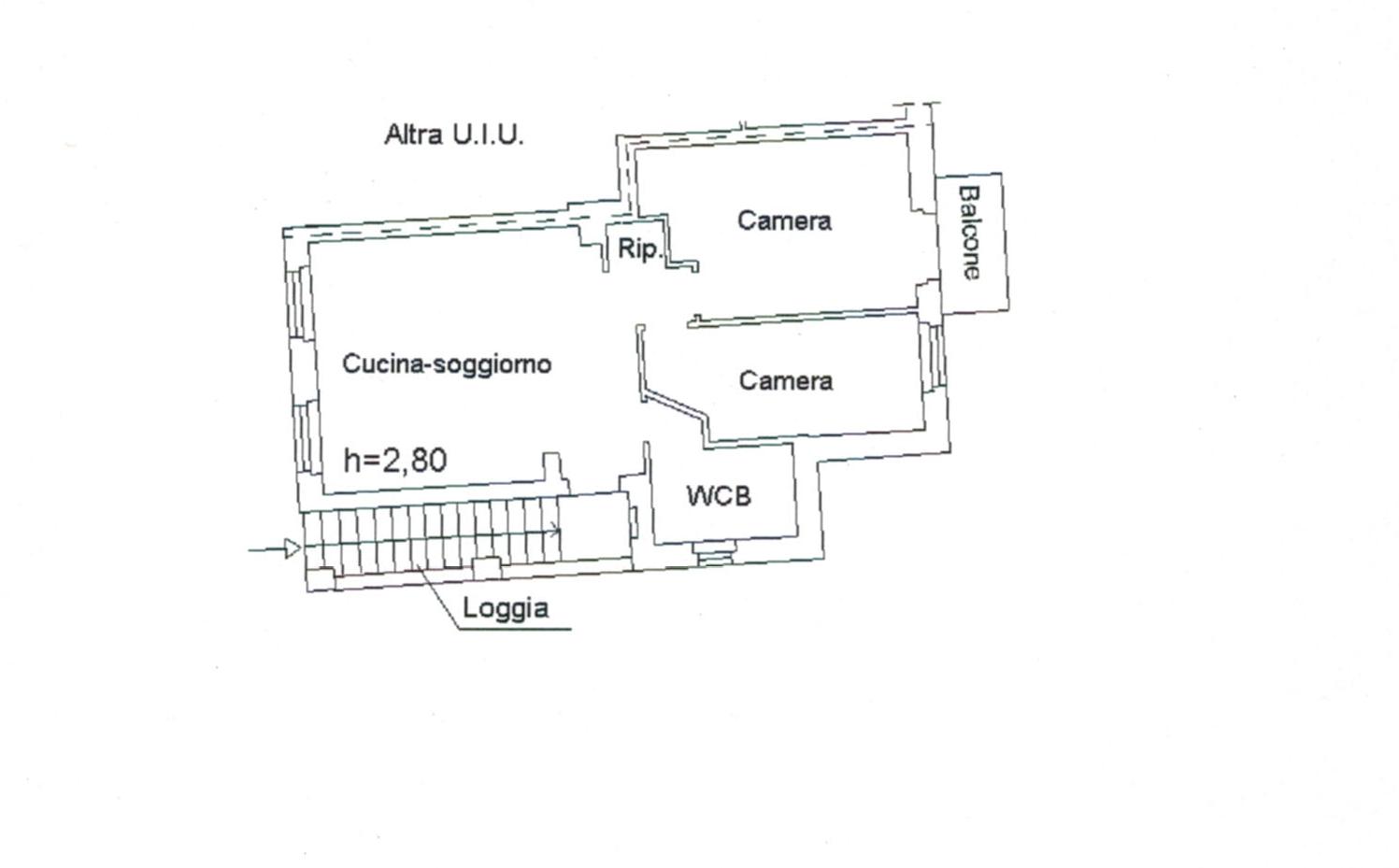 Planimetria 1/1 per rif. 541
