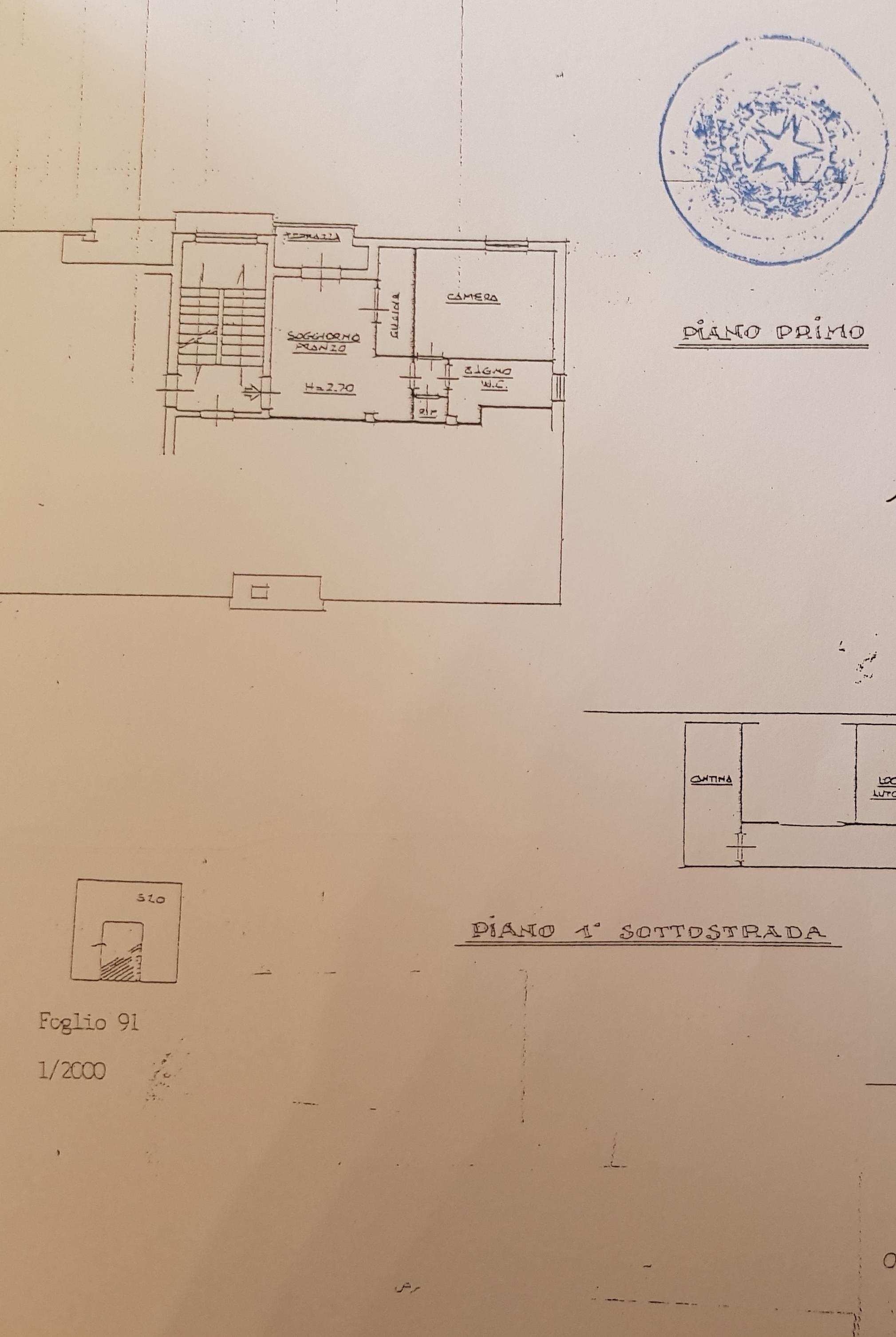 Planimetria 1/1 per rif. 671