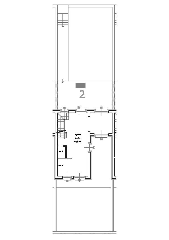 Planimetria 2/2 per rif. 685