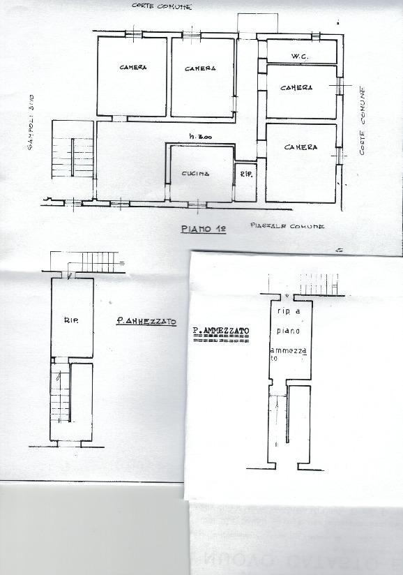 Planimetria 1/1 per rif. 728 casetta