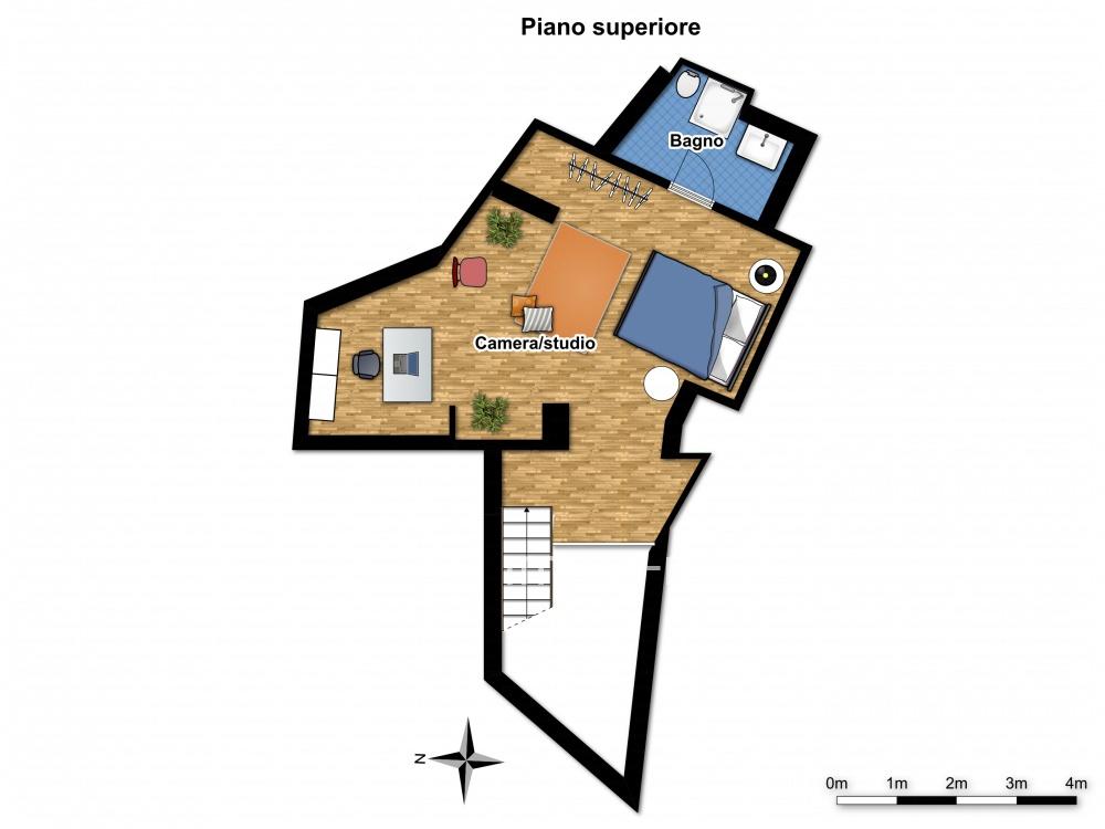 Planimetria 2/2 per rif. 744