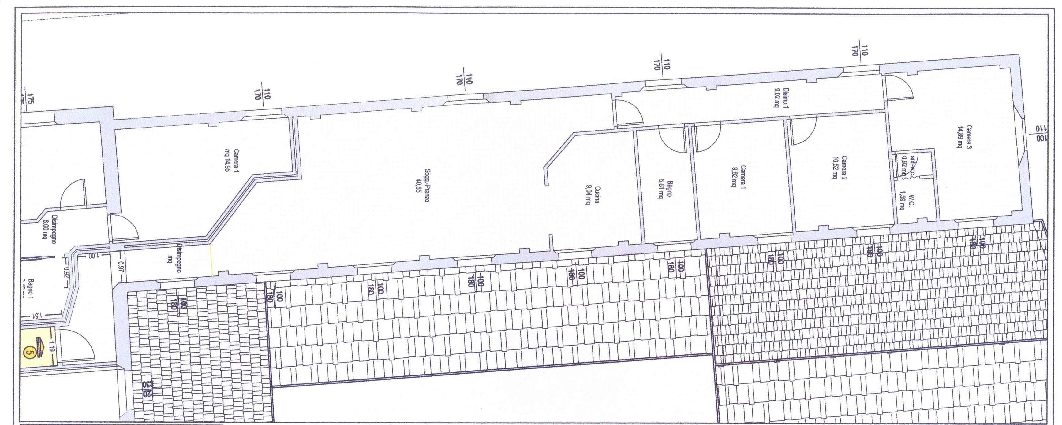 Planimetria 1/1 per rif. 788