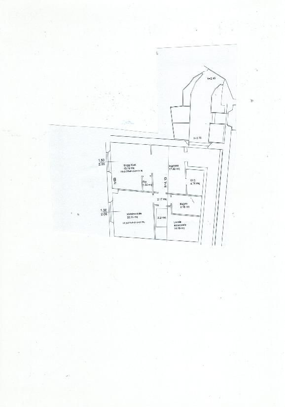 Planimetria 1/2 per rif. 799
