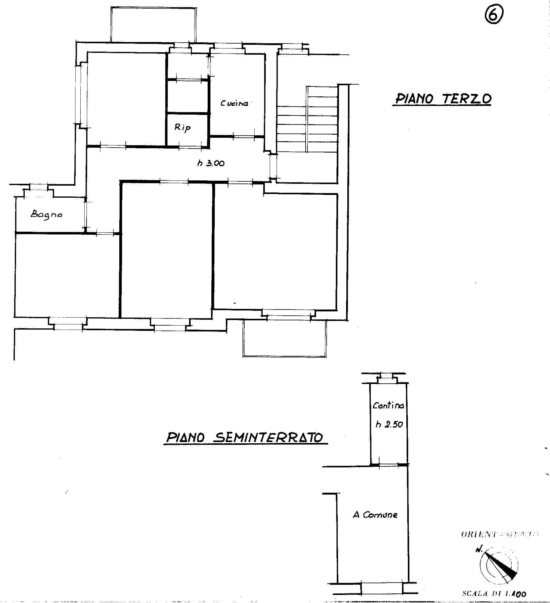 Planimetria 1/1 per rif. 807