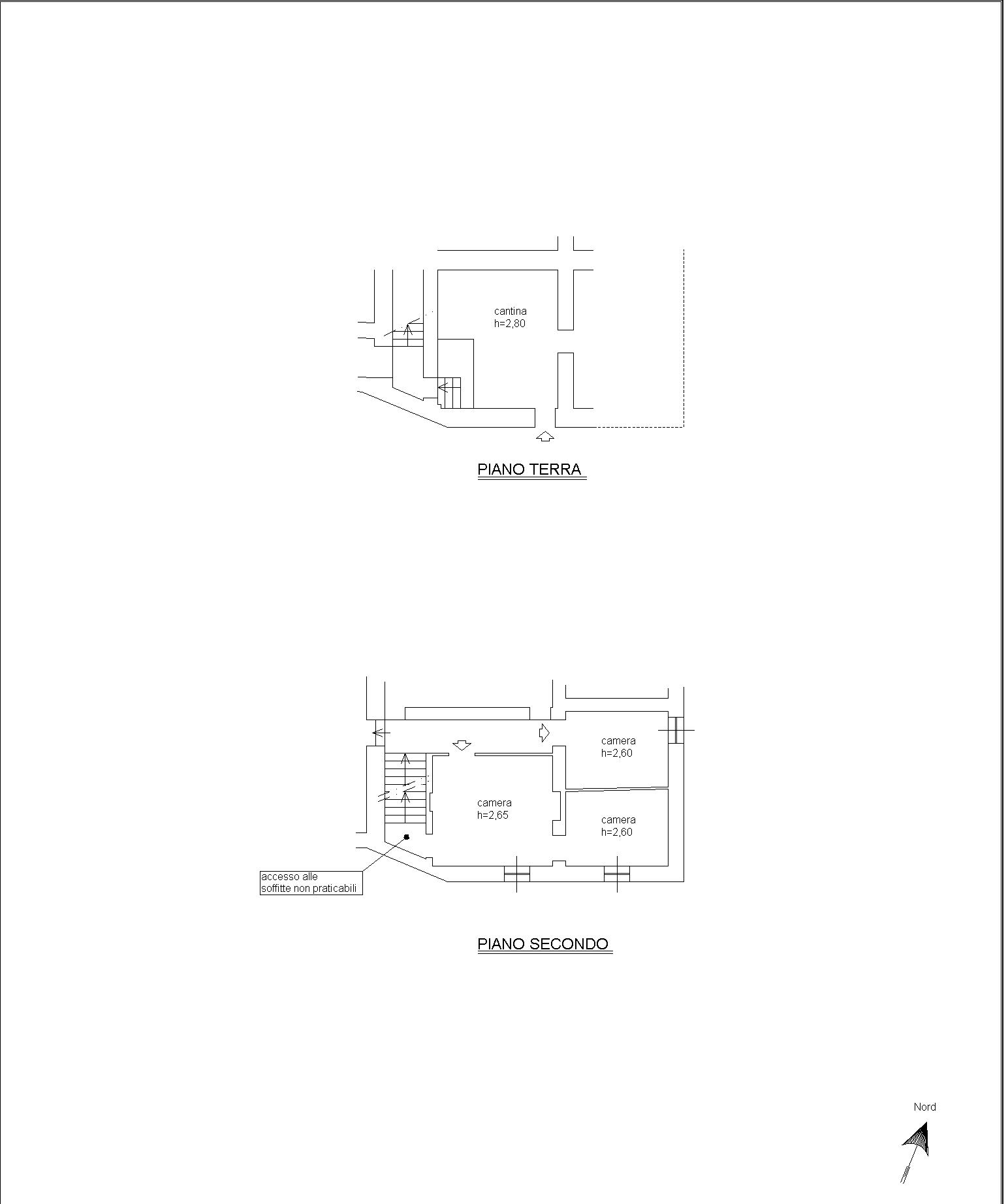 Planimetria 2/2 per rif. 809