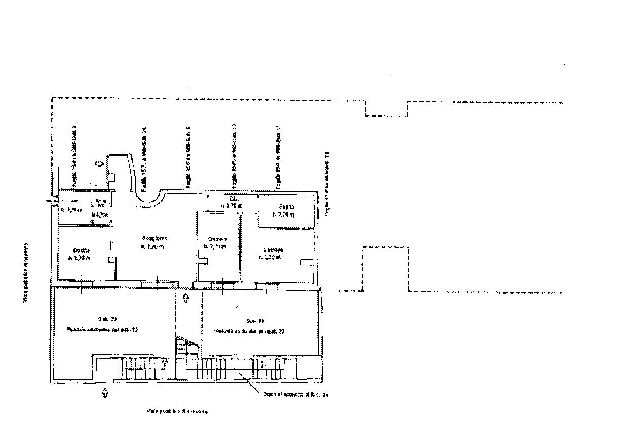 Planimetria 2/2 per rif. 810