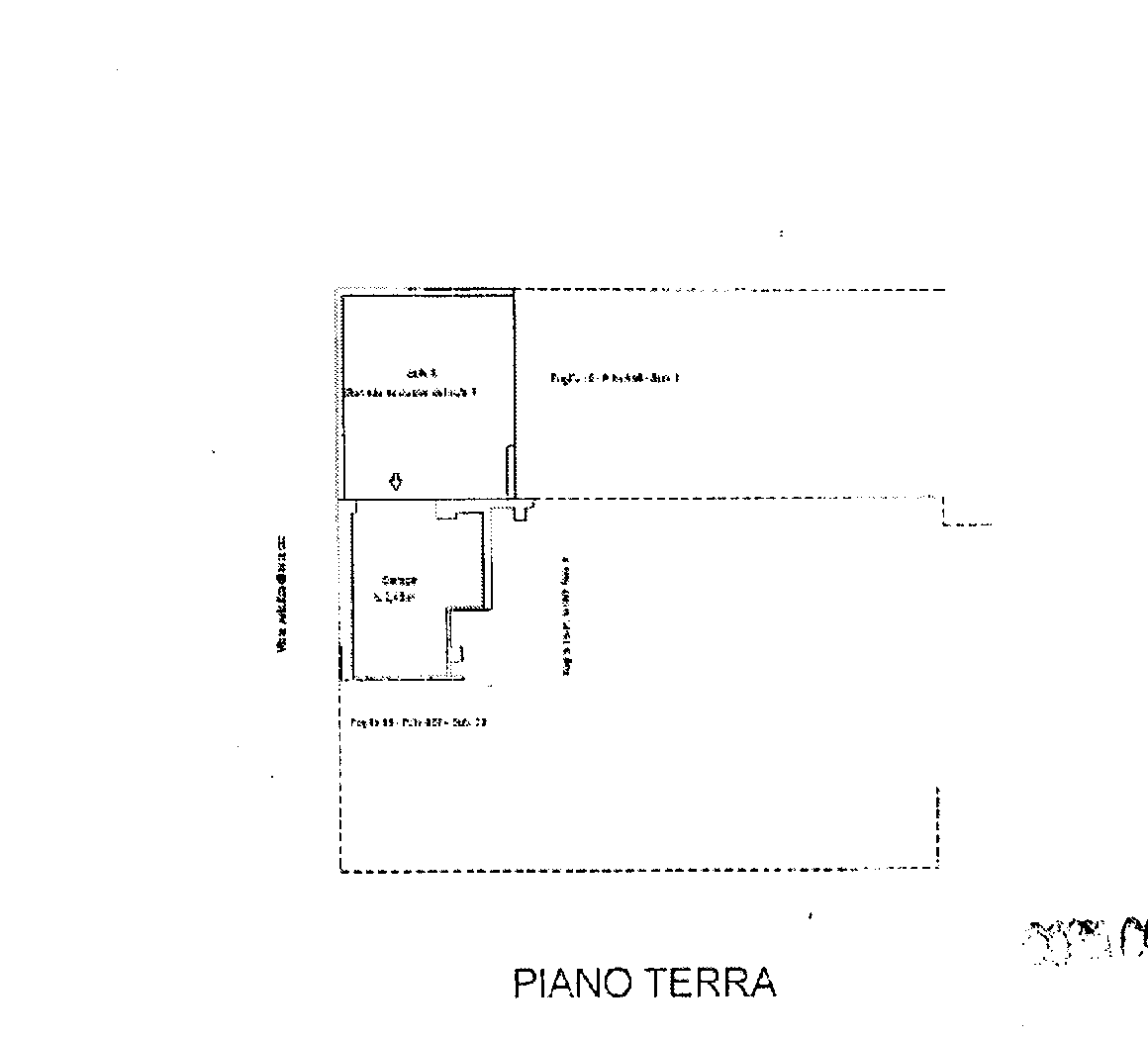 Planimetria 1/2 per rif. 810