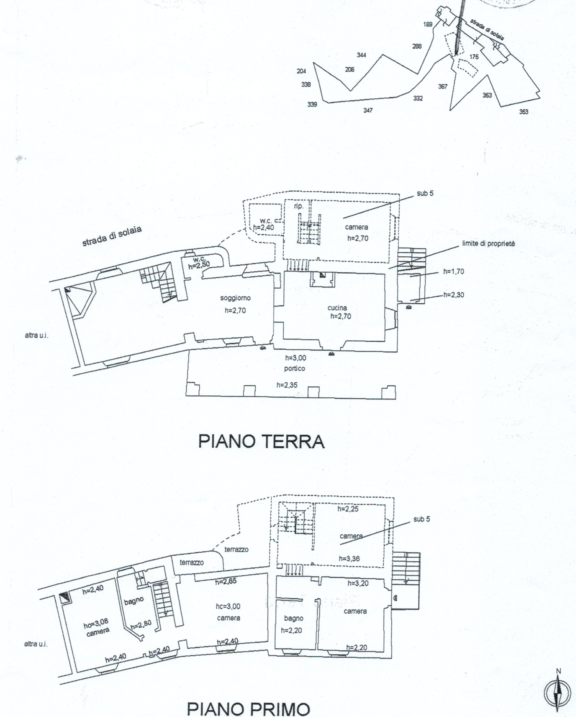 Planimetria 6/8 per rif. 816