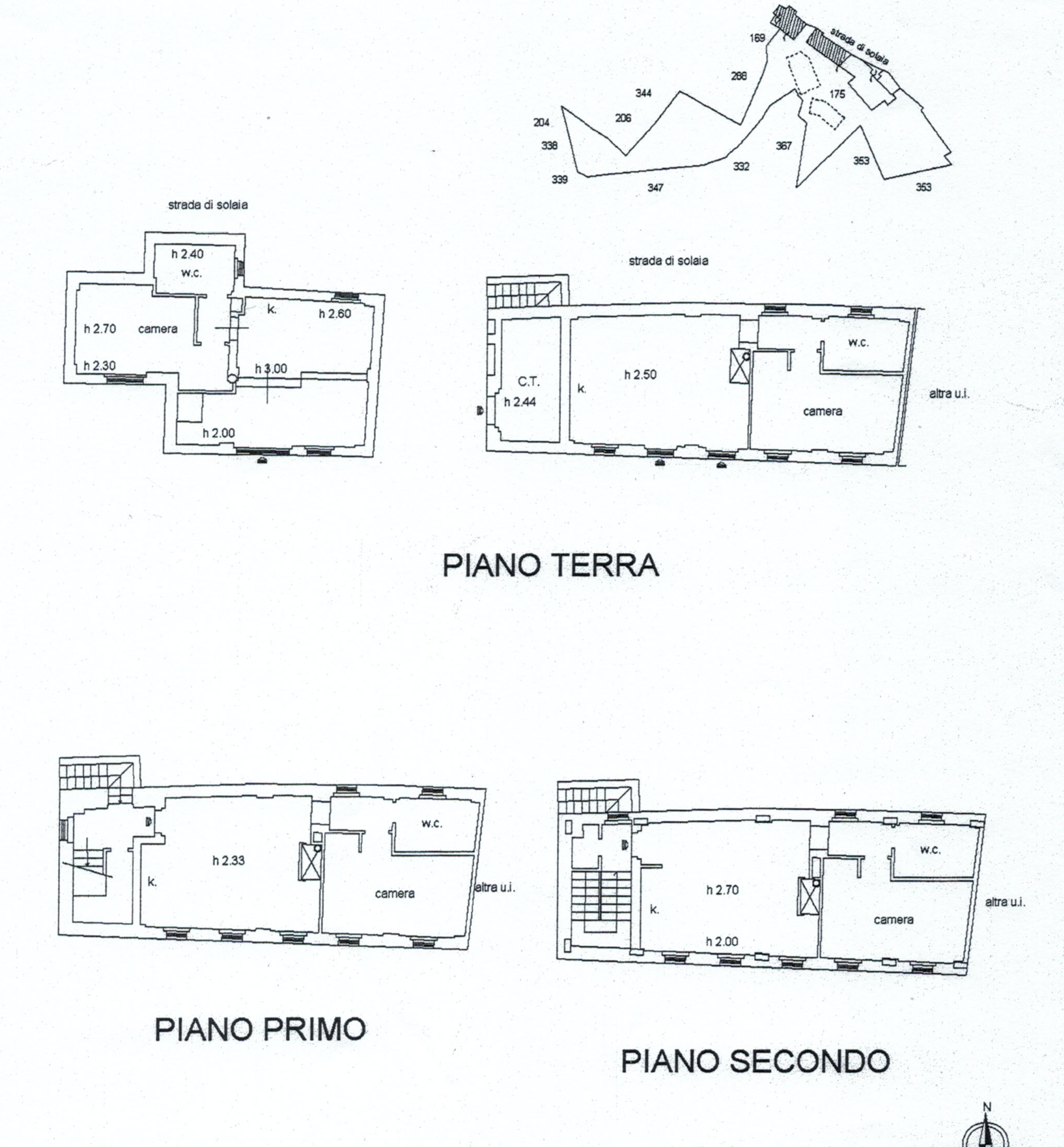 Planimetria 4/8 per rif. 816