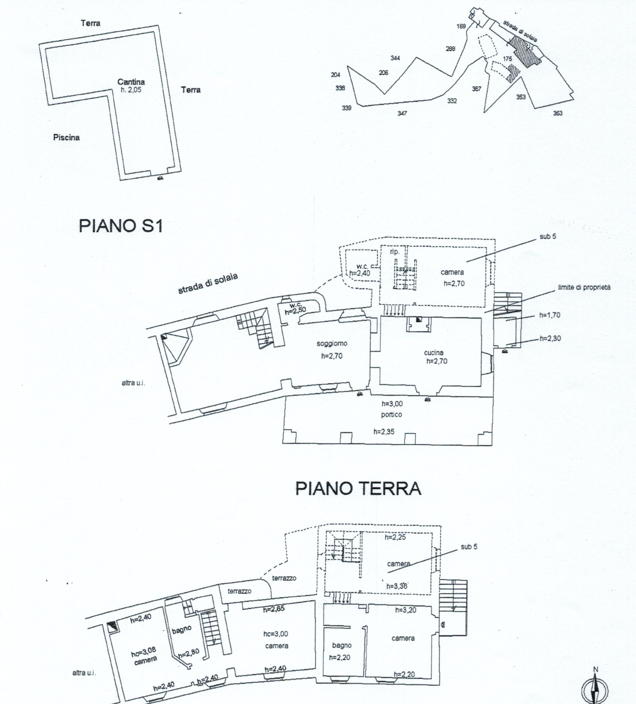 Planimetria 3/8 per rif. 816