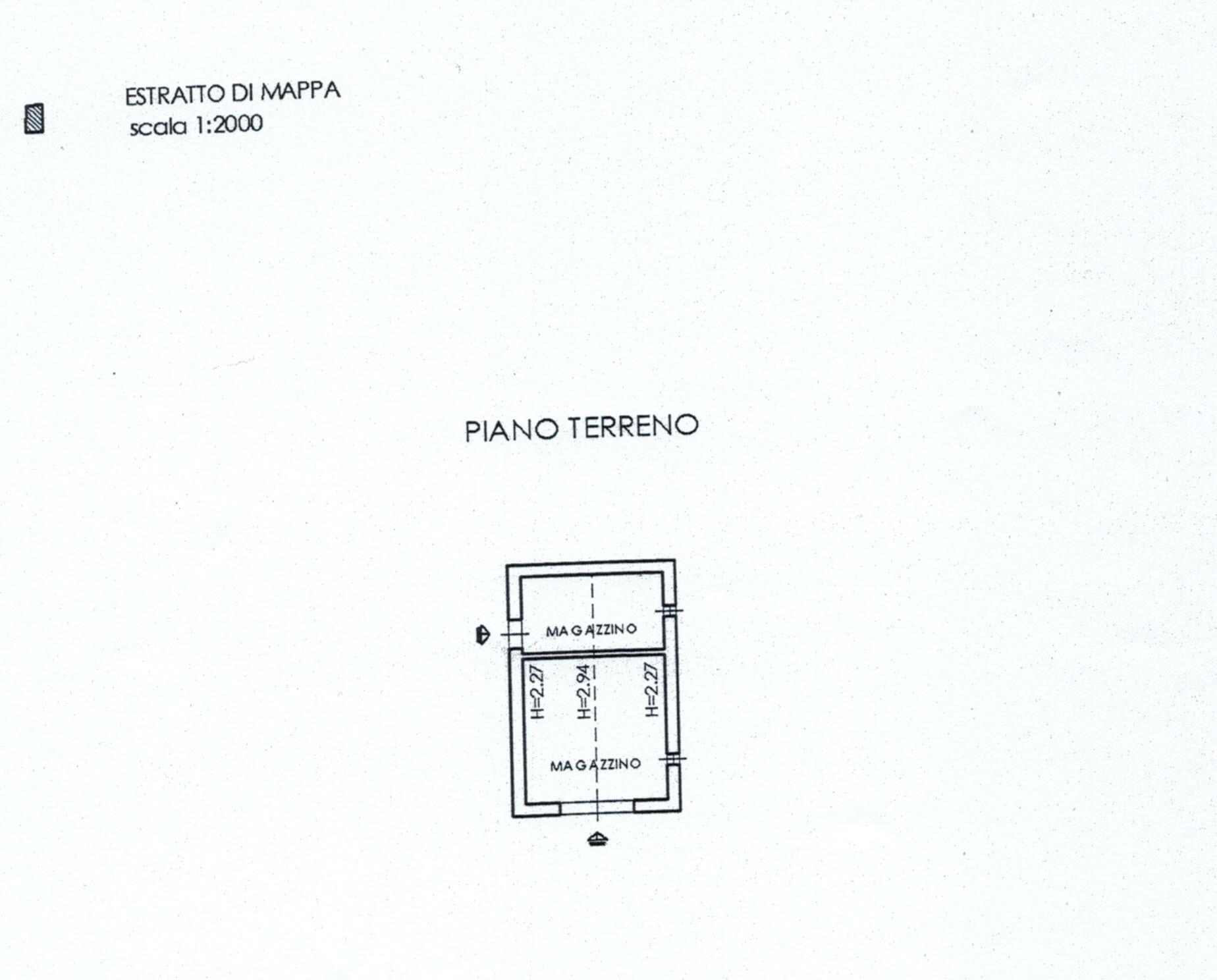 Planimetria 1/8 per rif. 816