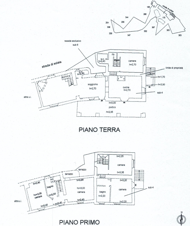 Planimetria 5/8 per rif. 816
