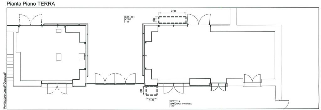 Planimetria 2/3 per rif. 818