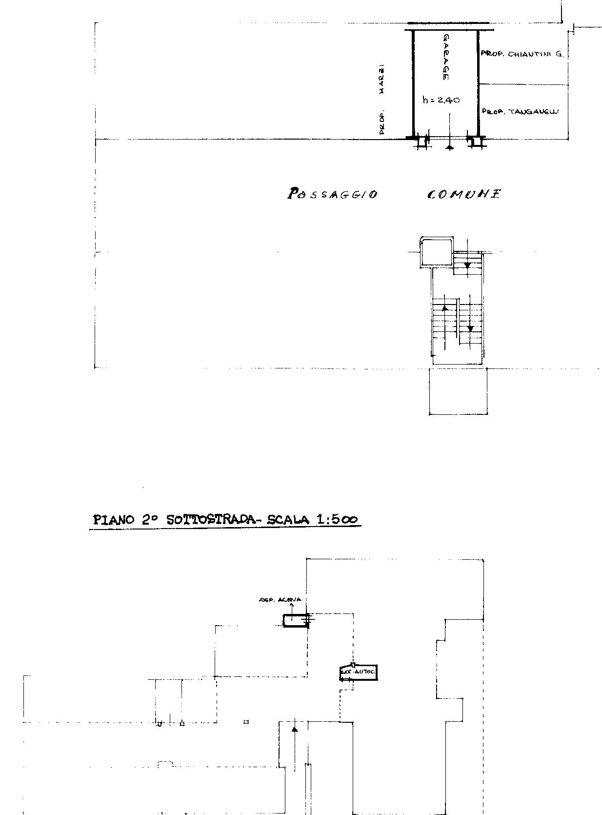 Planimetria 2/2 per rif. 820