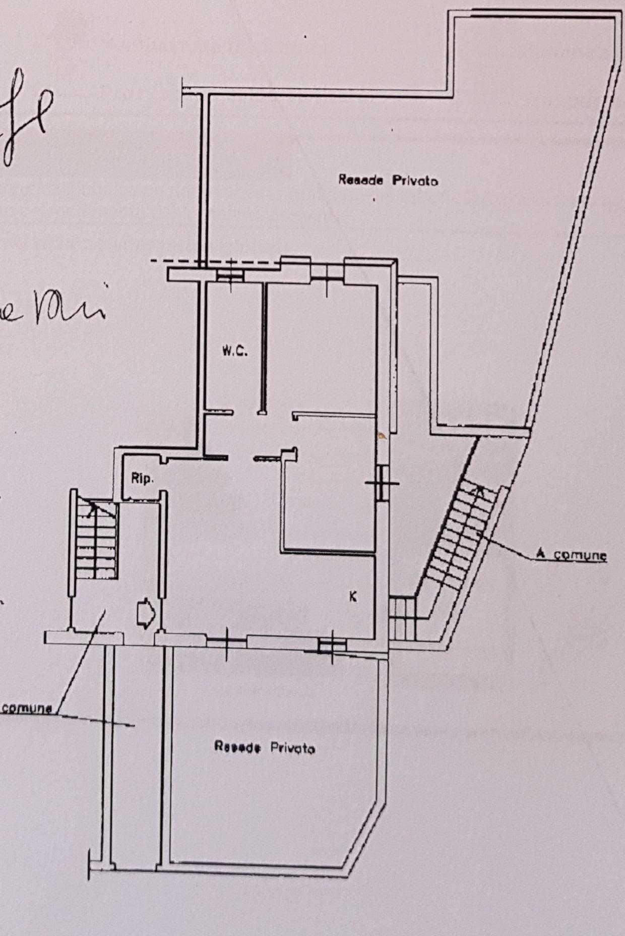 Planimetria 1/1 per rif. 821