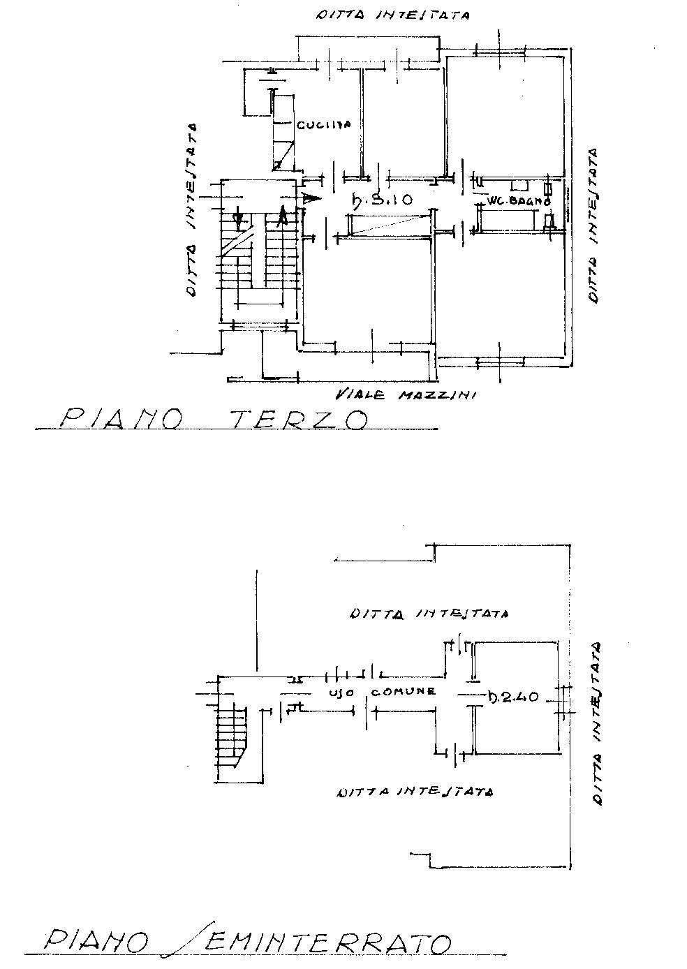 Planimetria 1/1 per rif. 822