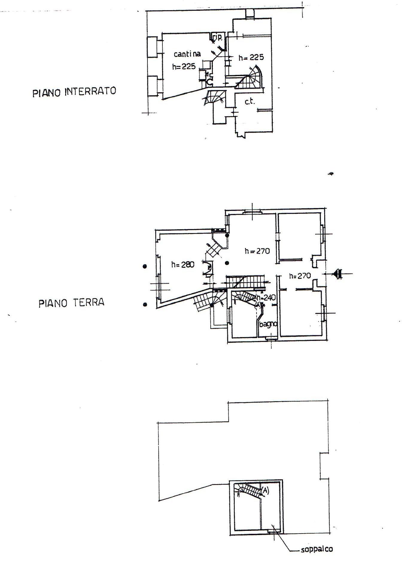 Planimetria 2/2 per rif. 823