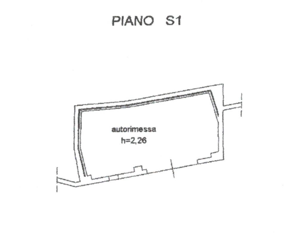 Planimetria 2/3 per rif. 824