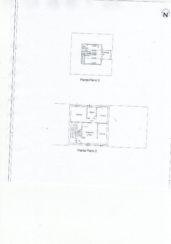 Appartamento in vendita, rif. 828 (Planimetria 1/2)