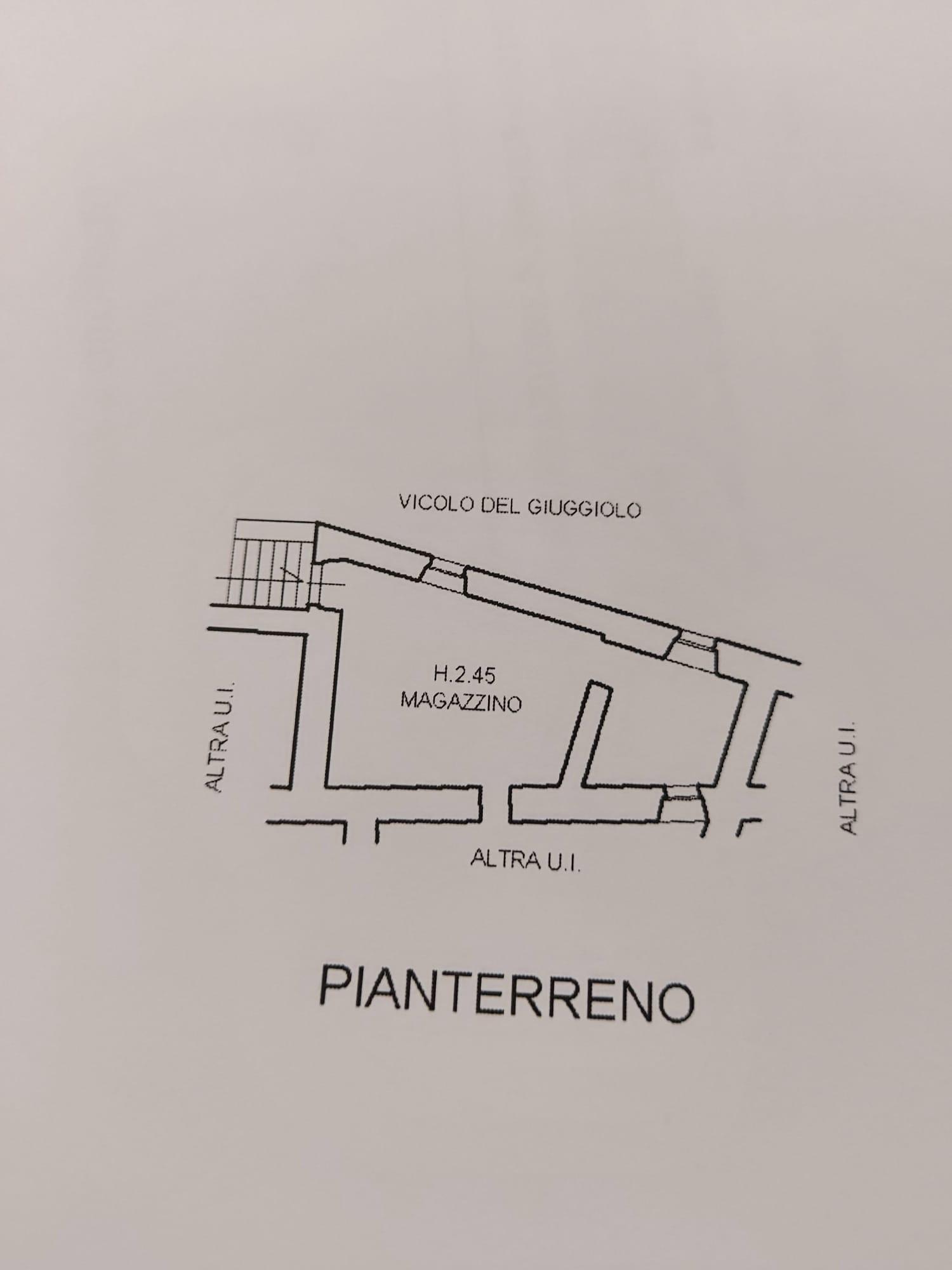 Planimetria 3/4 per rif. 830