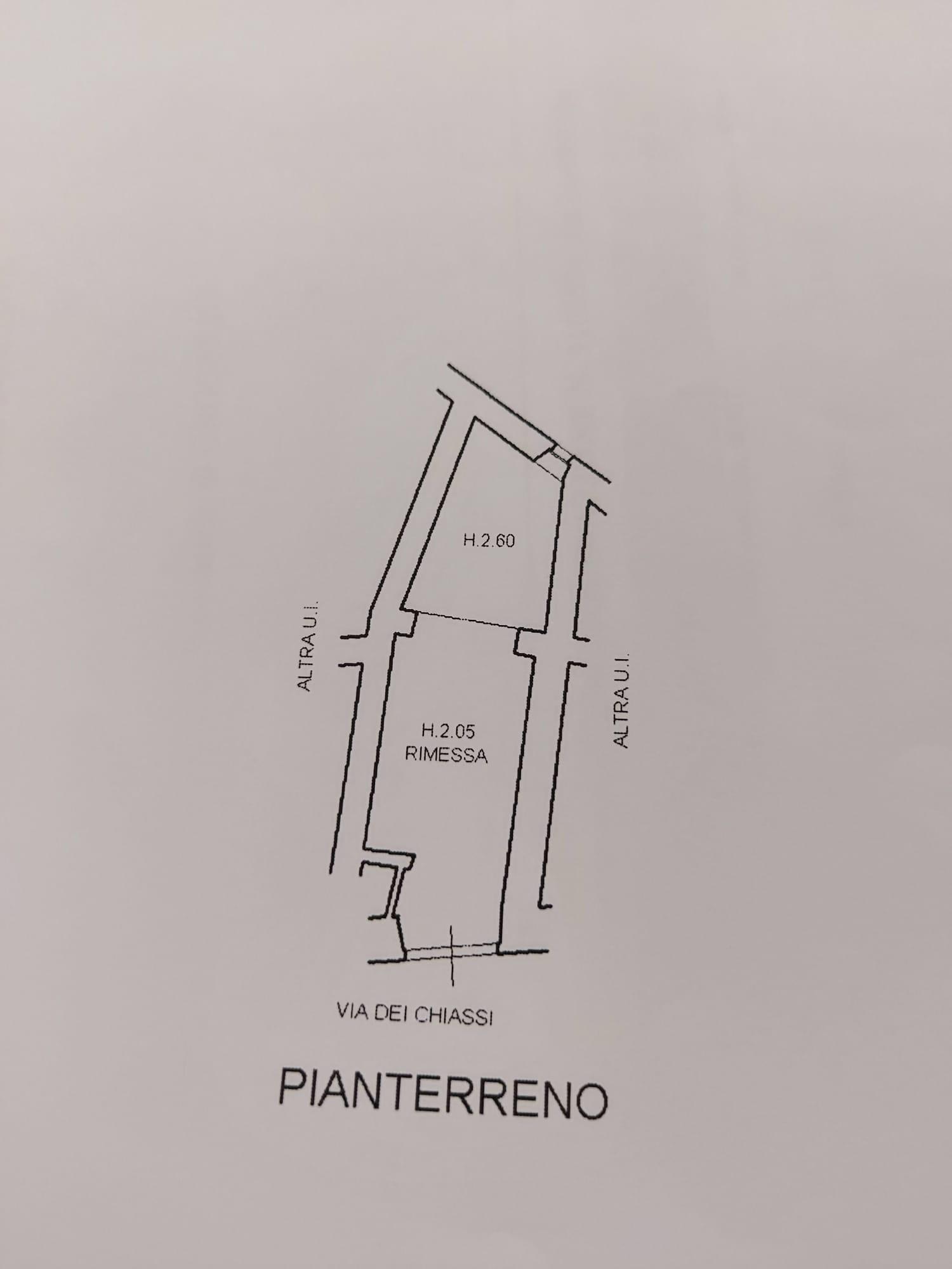 Planimetria 2/4 per rif. 830