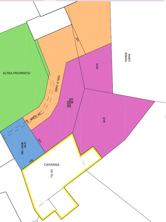 Rustico in vendita, rif. 837 (Planimetria 3/3)